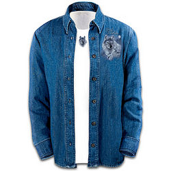 Women's Spirit of the Wilderness Denim Shirt