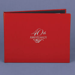 40th Anniversary Guest Book