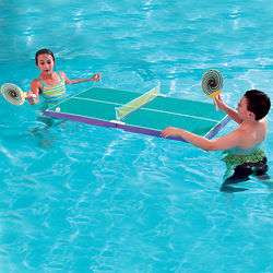 Floating Table-Tennis Pool Set