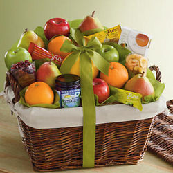 Deluxe Organic Fruit Gift Basket