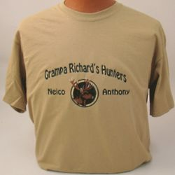 Deer Hunter Personalized Embroidered Shirt