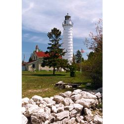 Door County Lighthouse Photographic Art Print