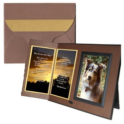 'Her Journey's Just Begun' Pet Loss Sympathy Picture Frame
