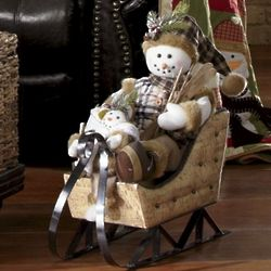 Frosty Goes for a Ride Figures