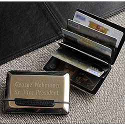 Personalized Expandable Executive Card Case