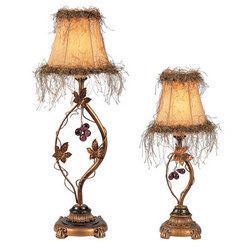 Jungle Table Lamp Set