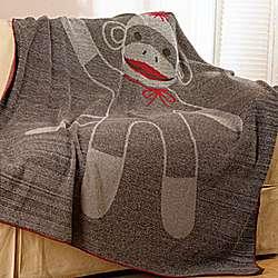 Sock Monkey Baby Blanket