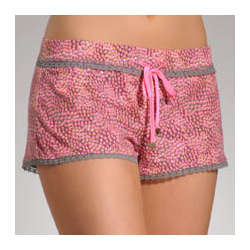 Love Yourself Shorts with Lace Detail