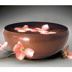 Camellia Copper Bowl