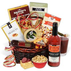 Bloody Mary Snack Basket