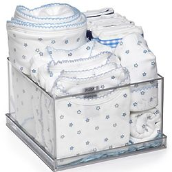 Blue Stars Deluxe Layette Gift Box