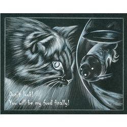 CatFish Fine Art Print