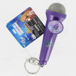 Hannah Montana Mini Recordable Microphone Keychain