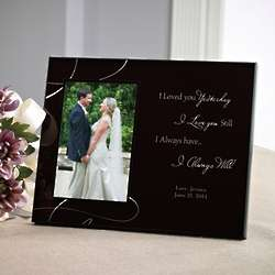 Personalized Love Always Picture Frame