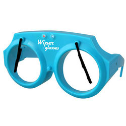Blue Wiper Glasses