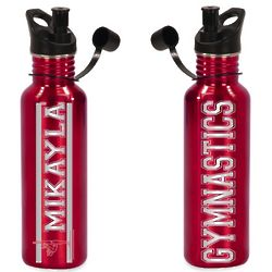 Personalized Gymnastics Water Bottle