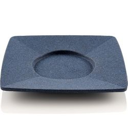 Japanese Blue Square Cast Iron Tea Coaster