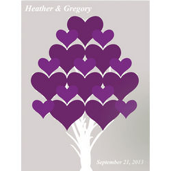Branches of Love Couple's Personalized Canvas