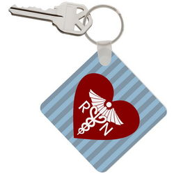 Personalized Keychain for Nurses