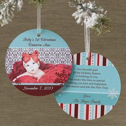 Magical Season Hanging Photo Ornament Card