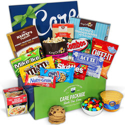 College Candy and Snacks Care Package