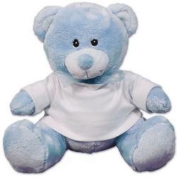 Personalized Blue Teddy Bear