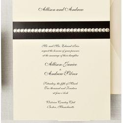Sophisticated Sparkle Wedding Invitations