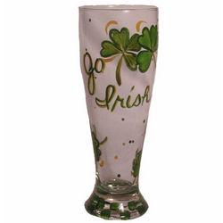 Go Irish Handpainted Pilsner Glass