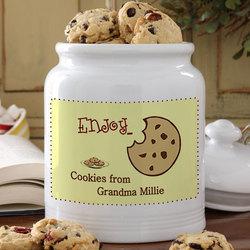 Enjoy...© Personalized Cookie Jar