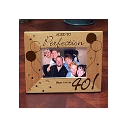 Aged To Perfection Picture Frame