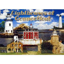 Connecticut Lighthouses Postcard