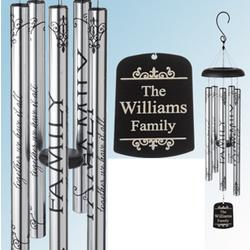 Personalized 'Together We Have It All' Family Windchime