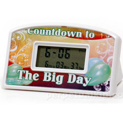 The Big Day Countdown Clock