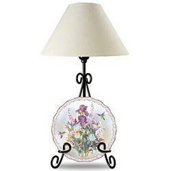 Plate Display Lamp