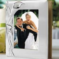 Personalized Calla Lily Wedding Album