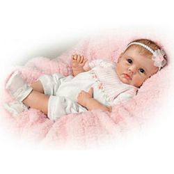 Olivia's Gentle Touch Lifelike Baby Girl Doll