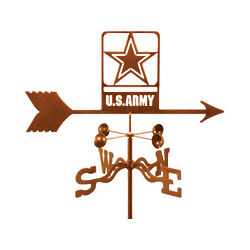 Army Logo Weather Vane
