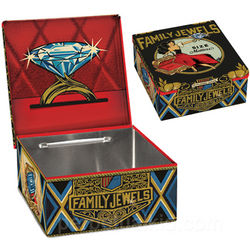 Family Jewels Cigar Box