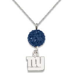 New York Giants Ovation Sterling Silver Necklace