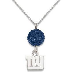 New York Giants Ovation Sterling Silver Necklace