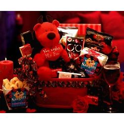 You Light My Fire Little Devil Valentine Gift Basket