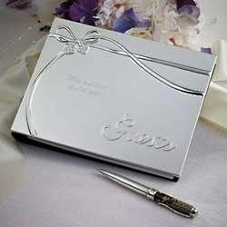 Romance Wedding Guest Book