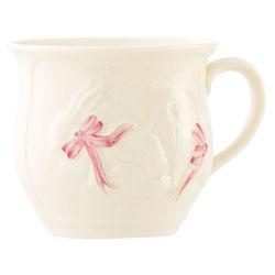 Belleek Girl Bunny Baby Cup