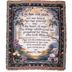 Heavenly Home Sympathy Blanket