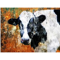 Cow Print Photo Collage