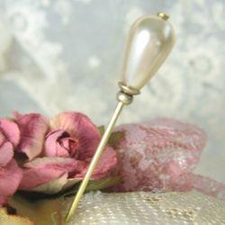 Pearl Chapel Veil Stick Pin