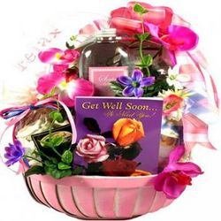 Get Well Comfort Gift Basket