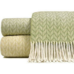 Chevron Plush Throw Blanket