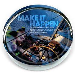 Make It Happen Positive Outlook Paperweight