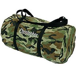 Camouflage Personalized Duffle Bag